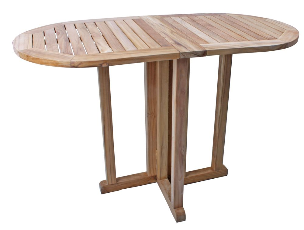 Gartentische - Balkontisch SOLO oval klappbar  - Onlineshop ETC Shop