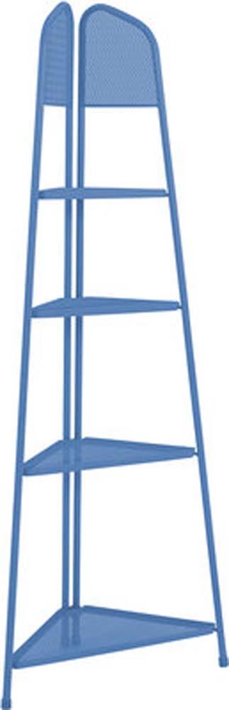 MWH Eckregal Ekko blau  180x48x48cm elotherm beschichtet 950430