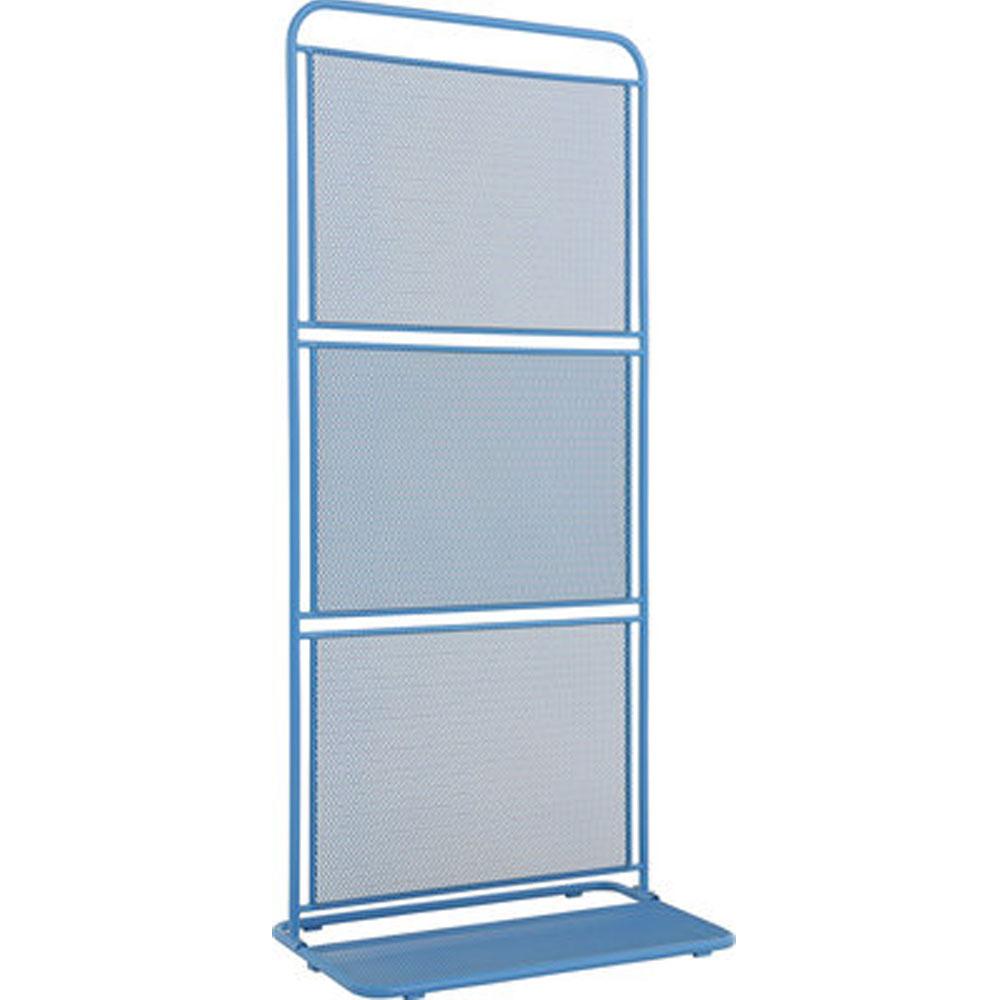 MWH Sichtschutz Divido blau 180x80x50 cm elotherm beschichtet 950438