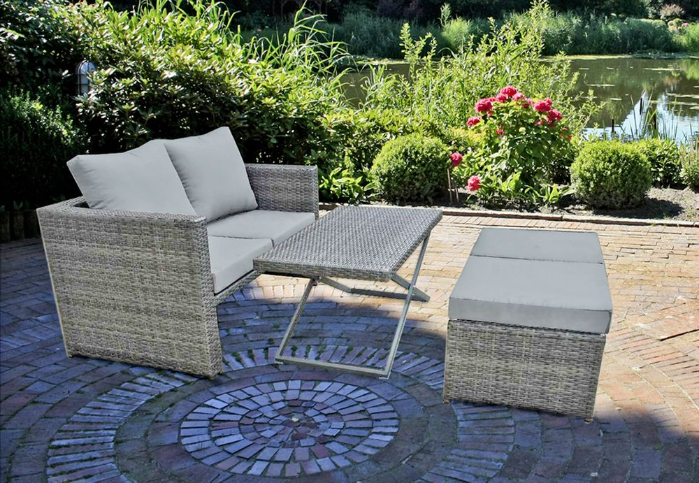 Gartenmöbel Sets - Sofa Set FERNANDO 4 tlg.  - Onlineshop ETC Shop