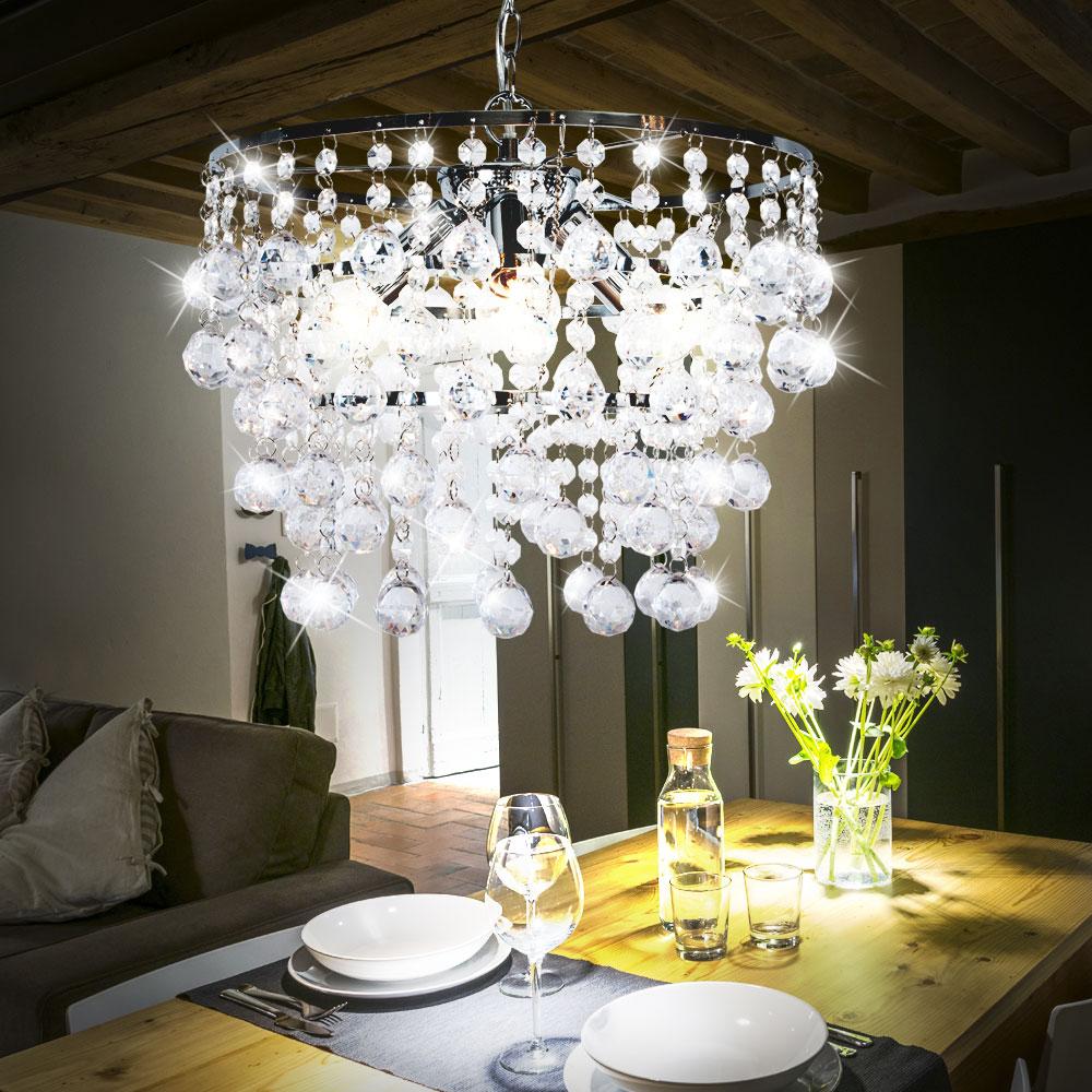 led pendelleuchte f r den wohnraum mit kristallen london unsichtbar lampen m bel innenleuchten. Black Bedroom Furniture Sets. Home Design Ideas