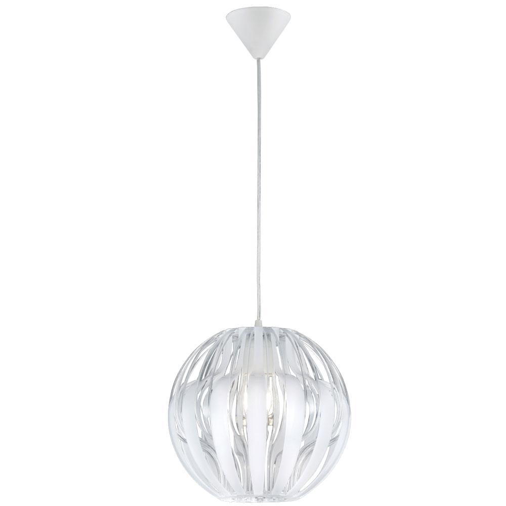 Lamp Shade In White Pumpkin