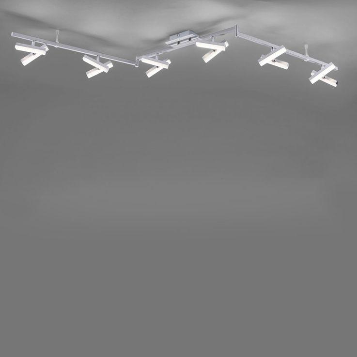 LED 24 Watt Decken Leuchte Schlafzimmer Strahler Stäbe schwenkbar EEK A+ Paul Neuhaus 11279-55 – Bild 5
