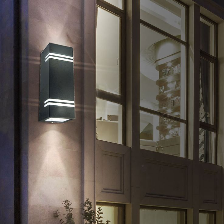 Luxury outdoor wall heater stainless steel UP DOWN light land yard lamp VT-7662 – Bild 6