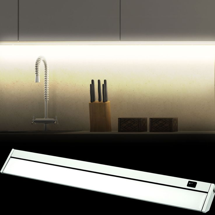 10 Watt SMD LED under-cabinet wall light swiveling work surfaces kitchen cabinet lamp V TAC 5069 – Bild 2