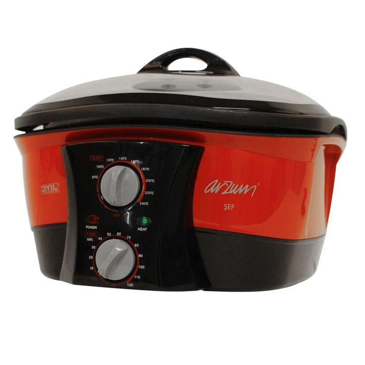 Multi-function cooker deep Fryer 5 liters steam Grill cooker Arzum AR276 – Bild 3