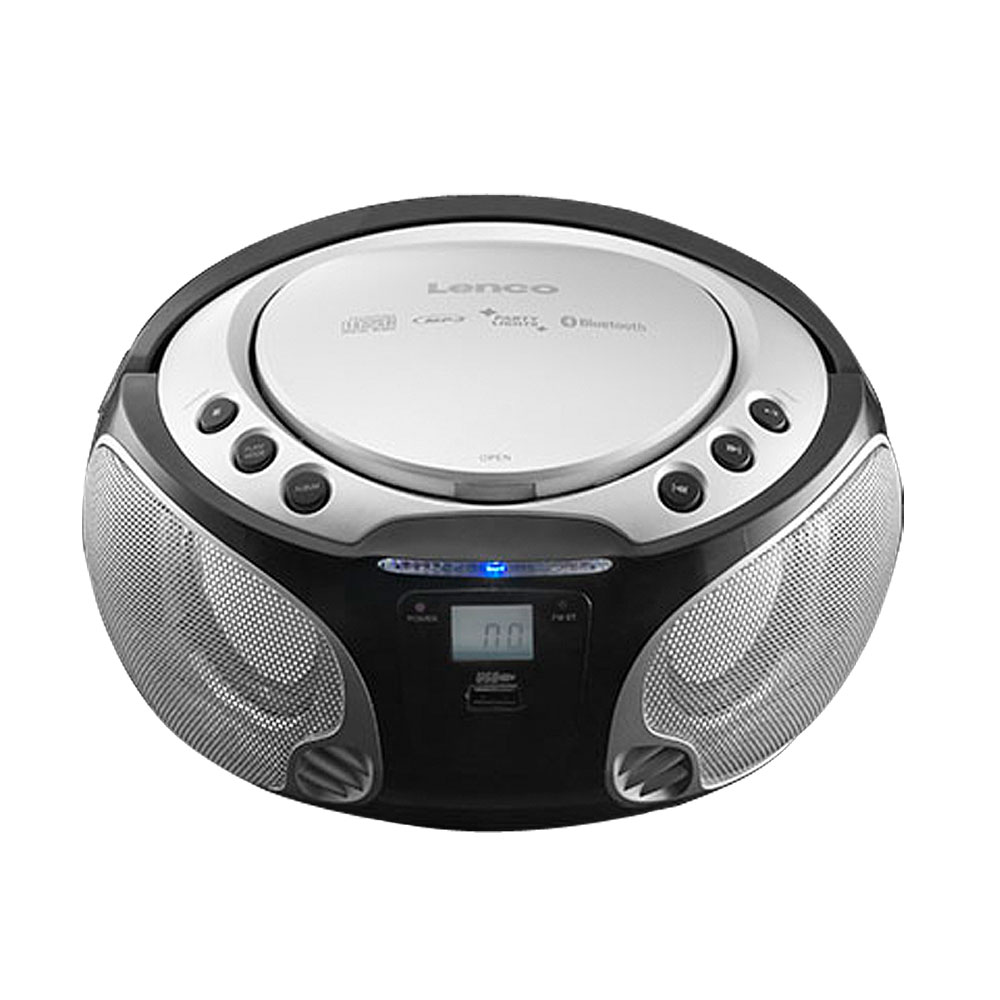 stereo audio fm radio cd player game room usb bluetooth mp3 light effect new ebay. Black Bedroom Furniture Sets. Home Design Ideas