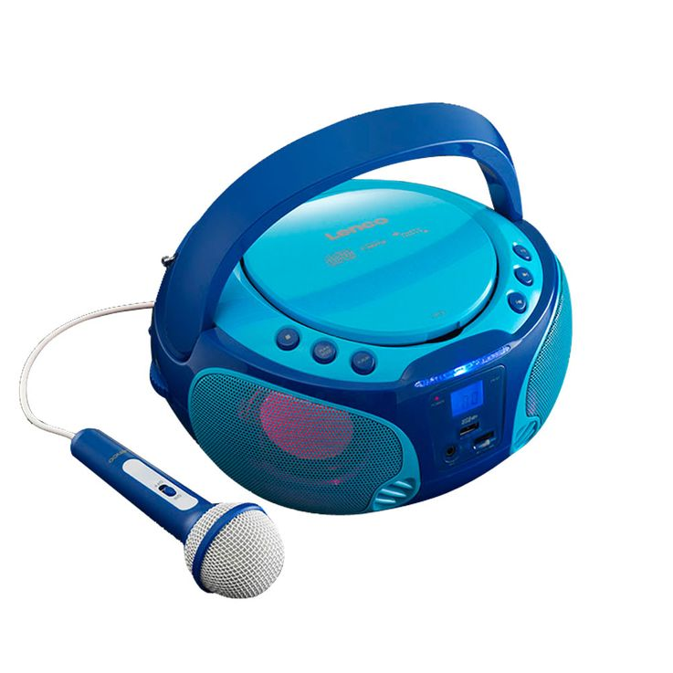 Karaoke children stereo with CD player and light effect – Bild 1