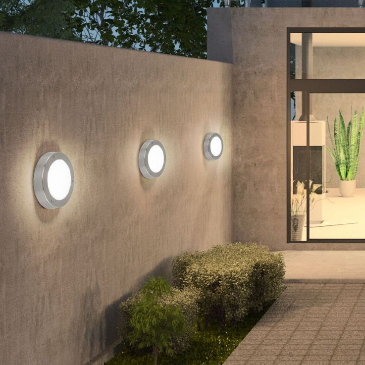 2 set LED wall lamps for your outdoor VENTO – Bild 4