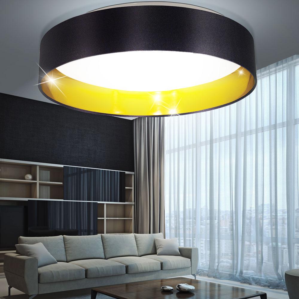 led deckenleuchte mit stoffschirm f r ihren flur maserlo. Black Bedroom Furniture Sets. Home Design Ideas