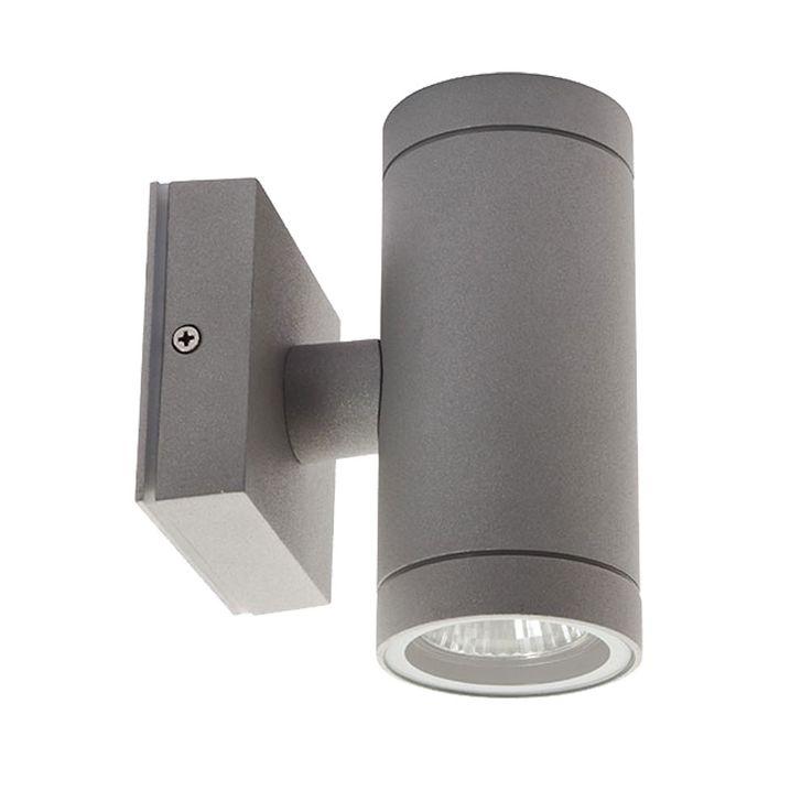 High quality wall light ALU Outdoor lighting Up Down Spot GU10 gray Lamp Kanlux 07080 – Bild 1
