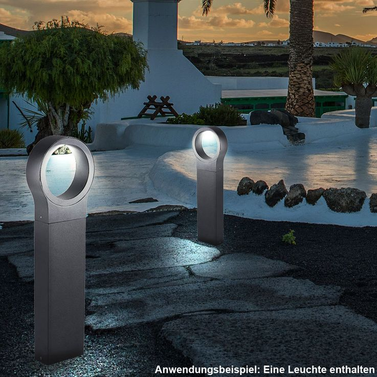 Design Floor lamp for exterior use in black LAVIA – Bild 2