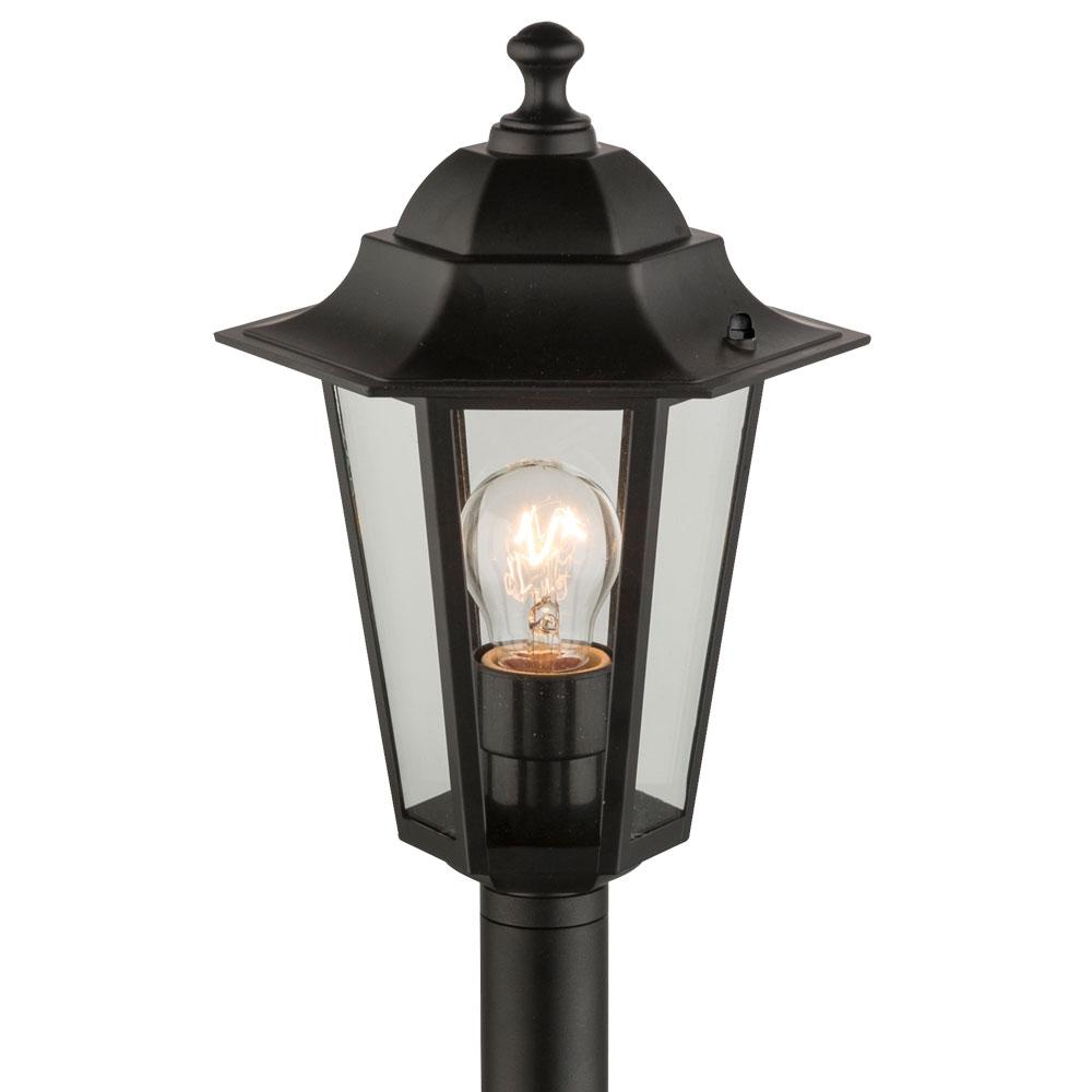 Rgb Led Outdoor Garden Lamp Pedestal Standing Light Remote Control Lighting Ip43 Ebay