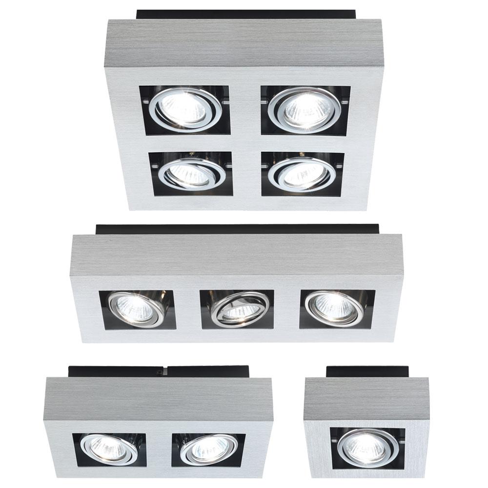 deckenlampen mit beweglichen spots inkl led rgb. Black Bedroom Furniture Sets. Home Design Ideas