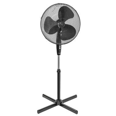 Stand fans rotatable Fan Air freshener height adjustable white black Remote control – Bild 6