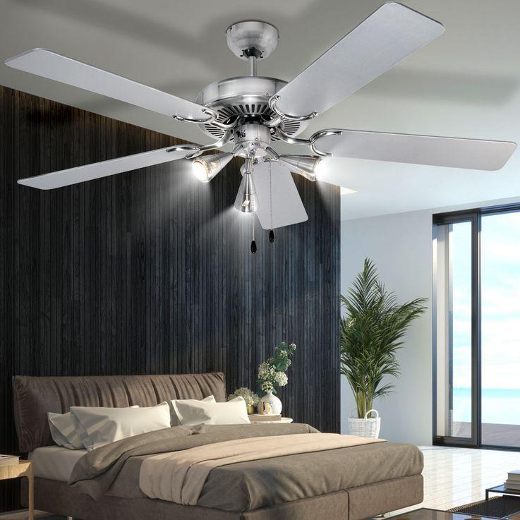 AEG Decken Tisch Steh Stand Tower Ventilator Lüfter Oszillierend Wandmontage Fernbedienung 3 Stufen – Bild 8