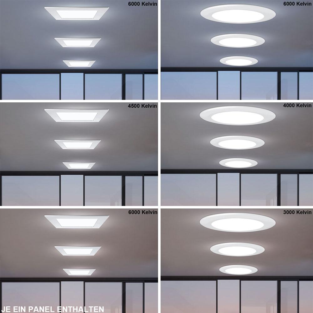 led panels mit led treiber f r ihren wohnraum unsichtbar lampen m bel b ro gewerbe led panels. Black Bedroom Furniture Sets. Home Design Ideas