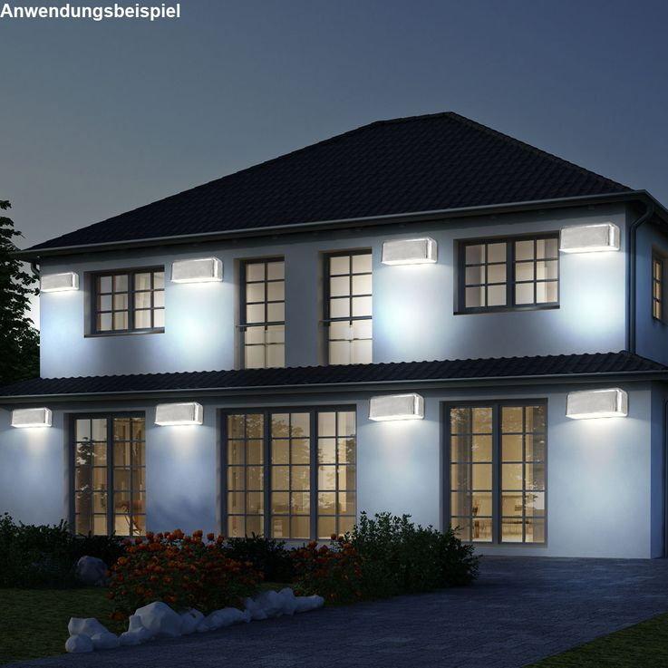 10 set LED wall lamps for your outdoor AVESIA – Bild 3
