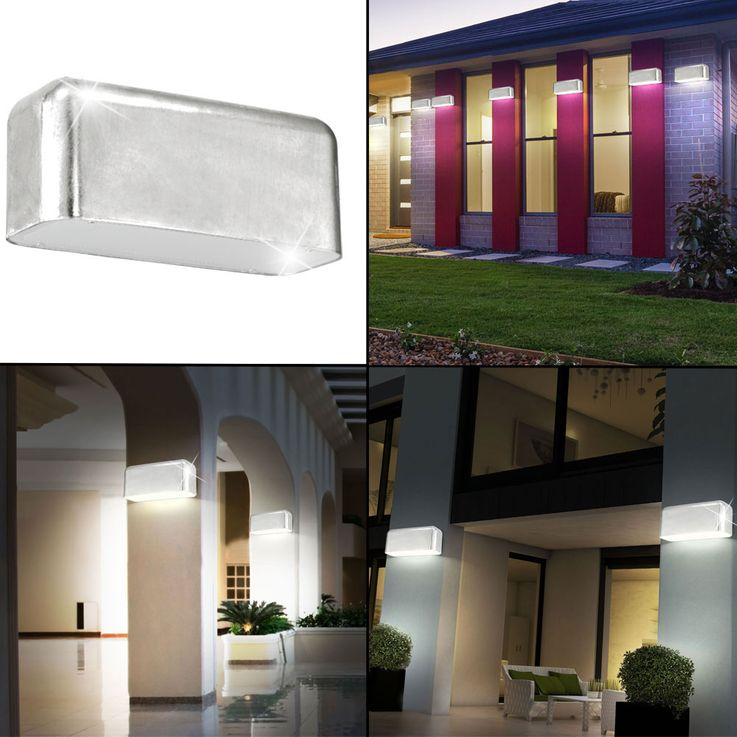 10 set LED wall lamps for your outdoor AVESIA – Bild 2