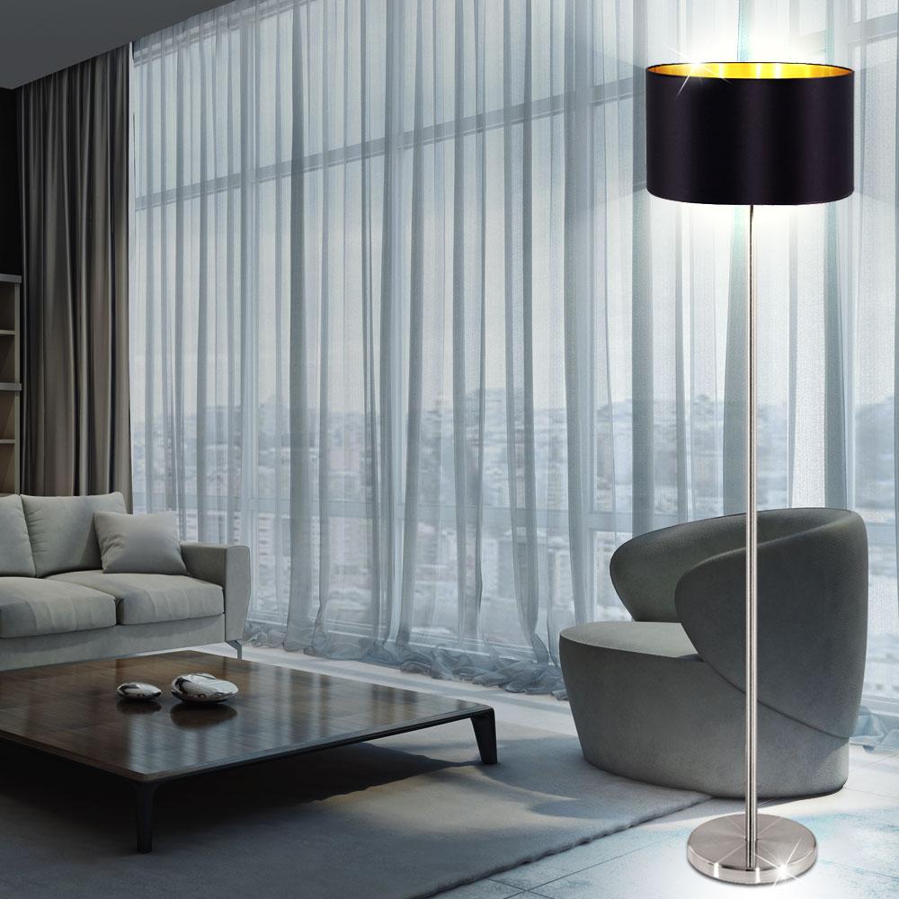 rgb led stehleuchte aus textil mit fernbedienung maserlo. Black Bedroom Furniture Sets. Home Design Ideas
