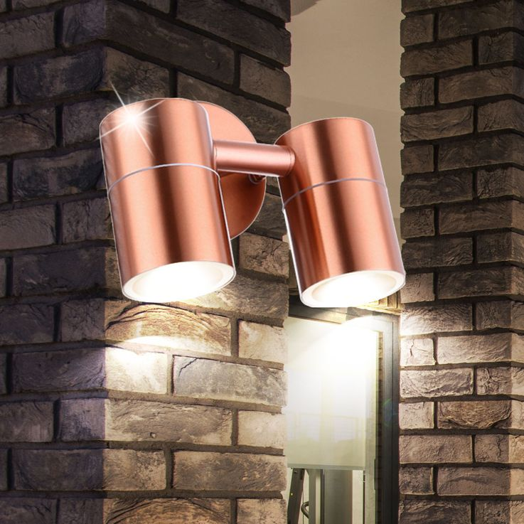 Outdoor wall lights STYLE stainless steel – Bild 5