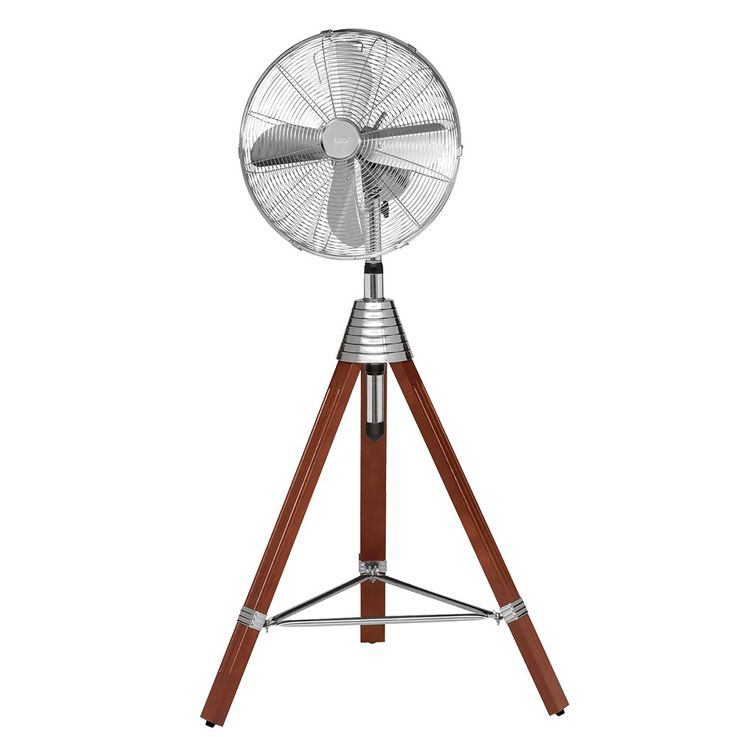 Stand Fan Climate Room ALU Cool Household Adjustable Wind Machine Wood Tripod  AEG VL 5688 S – Bild 8