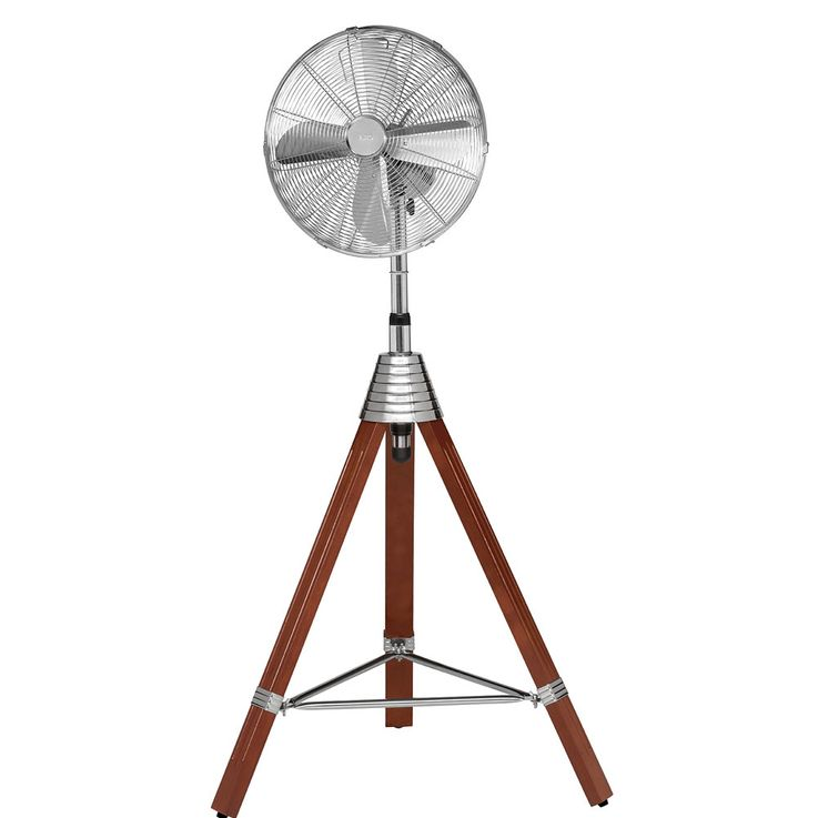 Stand Fan Climate Room ALU Cool Household Adjustable Wind Machine Wood Tripod  AEG VL 5688 S – Bild 1
