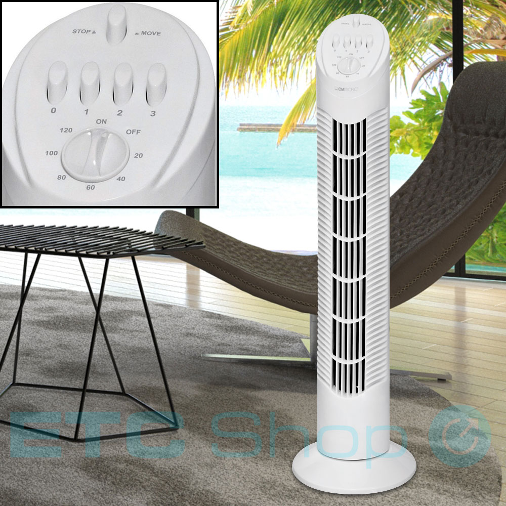 turmventilator s ulenventilator standventilator stand tower ventilator b ro 76cm ebay. Black Bedroom Furniture Sets. Home Design Ideas