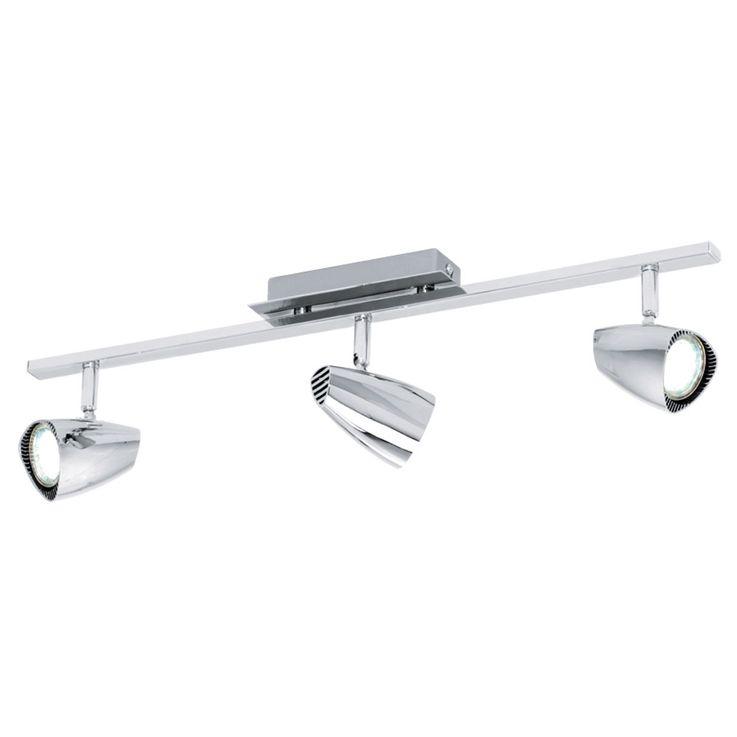 LED ceiling lamp, spotlight movable, length 58.5 cm, CORBERA – Bild 1