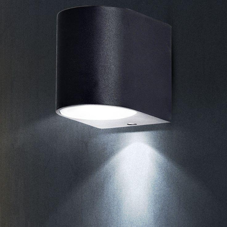 High-quality exterior wall luminaire variant including LED bulbs – Bild 9