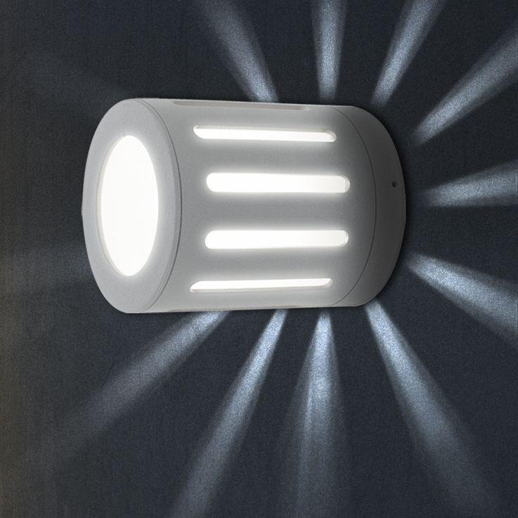 High-quality exterior wall luminaire variant including LED bulbs – Bild 4