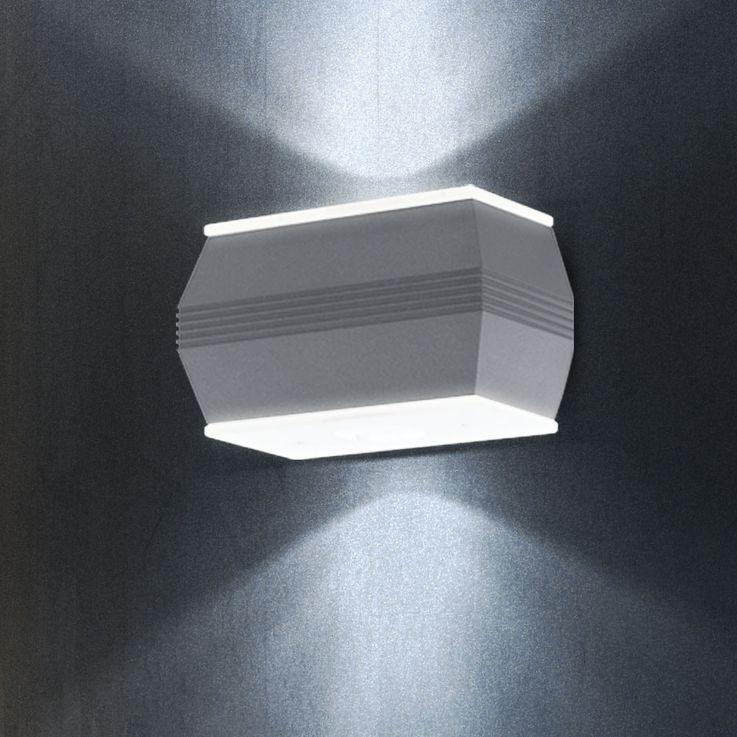 High-quality exterior wall luminaire variant including LED bulbs – Bild 6