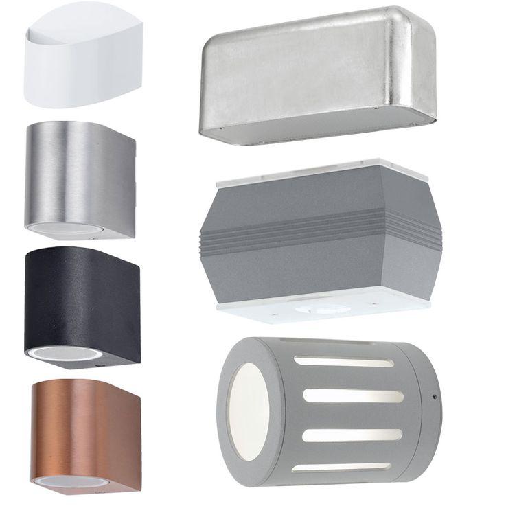 Luminaires paroi extérieure Qualité version incl. Lampes LED – Bild 1