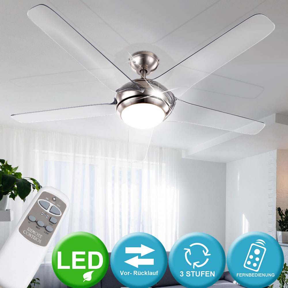 Plafond Lampes De Ventilateurs Led Design InclLes pSUzMqV