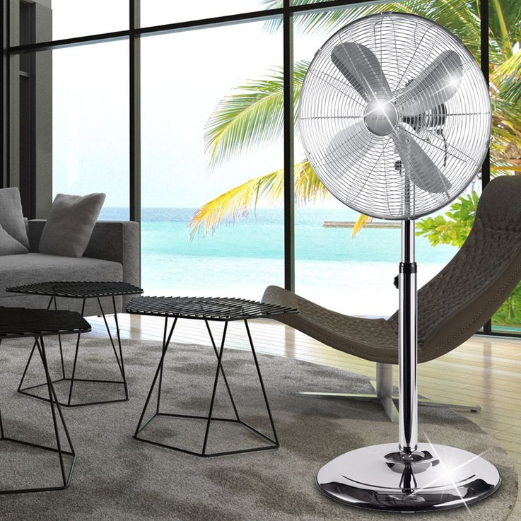 AEG design ventilateurs COLONNES table étage ventilateur vent machine Oscillant – Bild 6