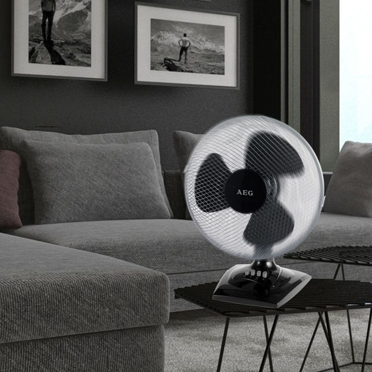 AEG design ventilateurs COLONNES table étage ventilateur vent machine Oscillant – Bild 7