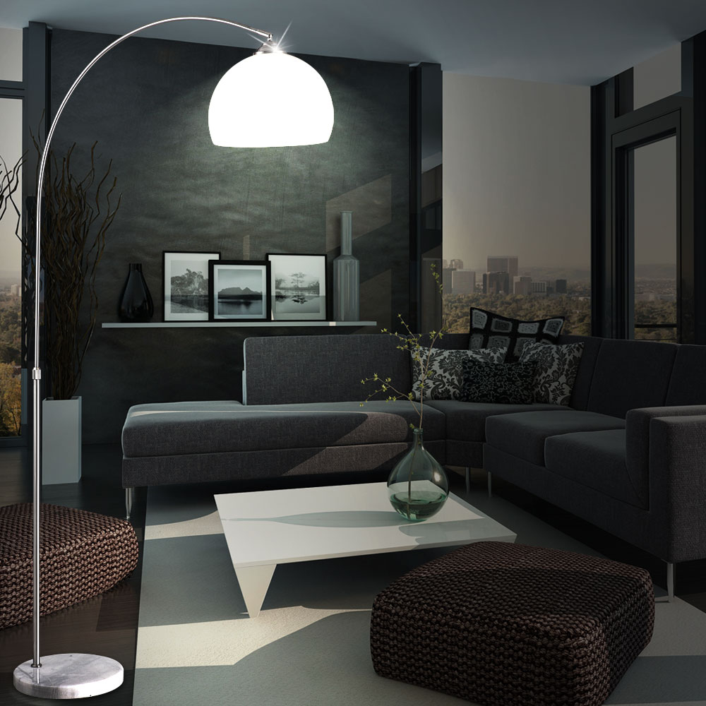 Floor Lamps For Living Room: RGB LED Floor Lamp Living Room Reading Light Dimmable