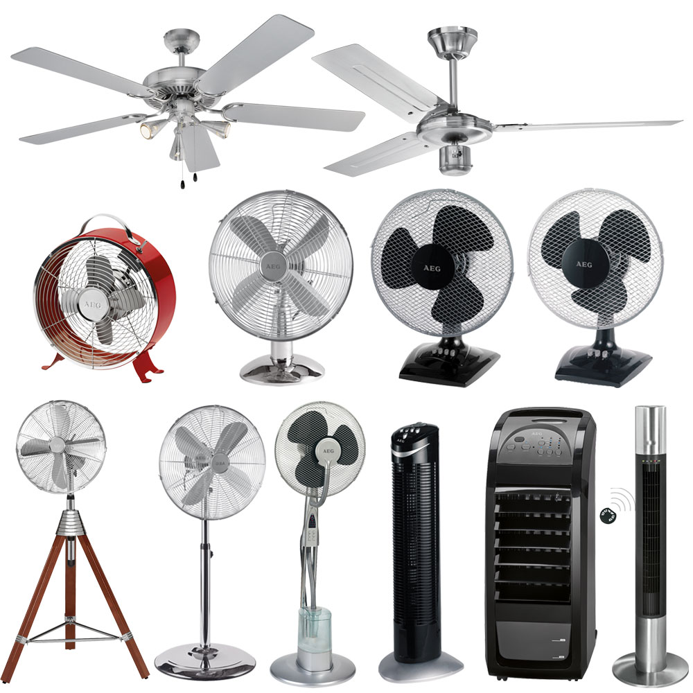 AEG Standing Table Fans dining Living Room Ceiling Lamp Fans Air Humidifiers