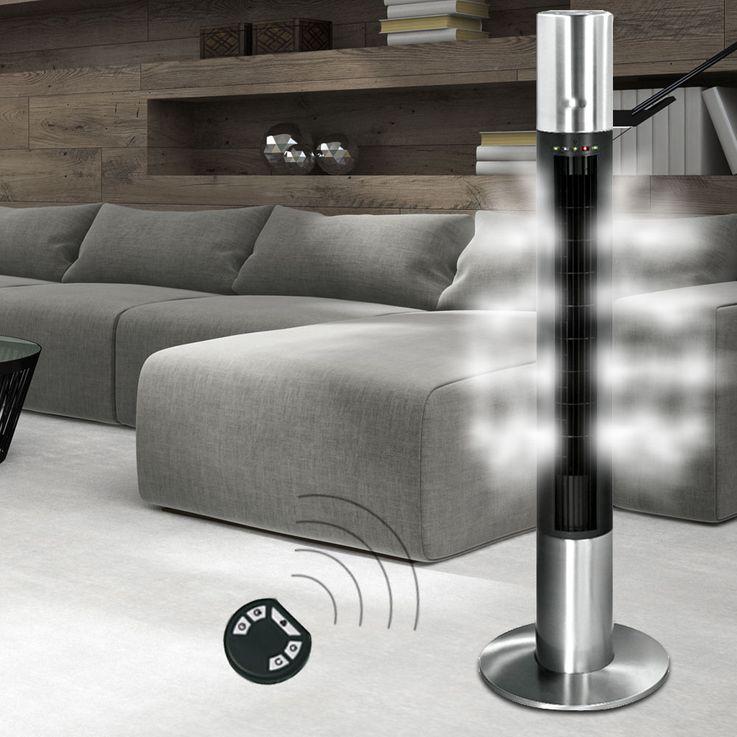 AEG Design Steh Stand Tisch Ventilatoren Wohn Ess Zimmer Decken Lüfter Luft Erfrischer oszillierend – Bild 10
