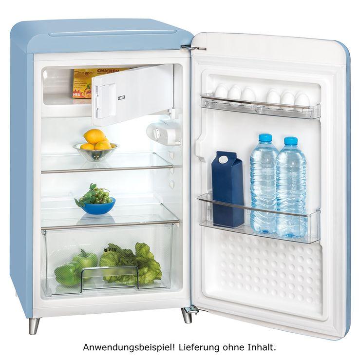 Tief Kühl Schrank Restaurant Bar Eis Fach Kühler verschiedene Farben Exquisit RKS130-11A++ – Bild 4