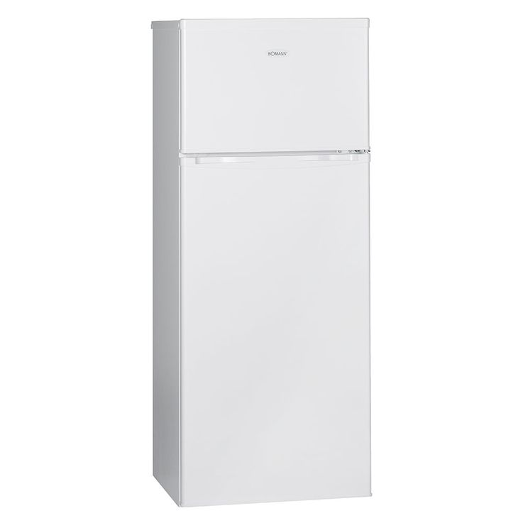Doppeltür Kühlschrank 215l  A++ 4 Sterne 40dB Abtauautomatik BOMANN DT 347 weiß – Bild 1