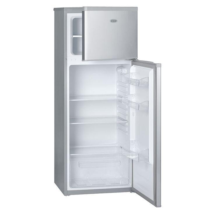 Doppeltür Kühlschrank 215l  A++ 4 Sterne 40dB Abtauautomatik BOMANN DT 347 silber – Bild 2