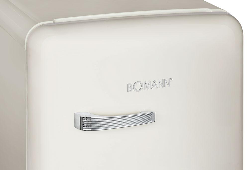 Bomann Kühlschrank 55 Cm : Gefrier kühlschrank retro design bomann ksr küche haushalt