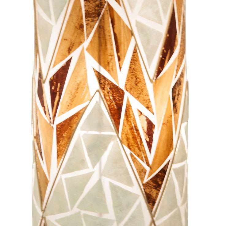 Table lamp living room mosaic lighting shell floor lamp switchable Globo 28529T – Bild 4