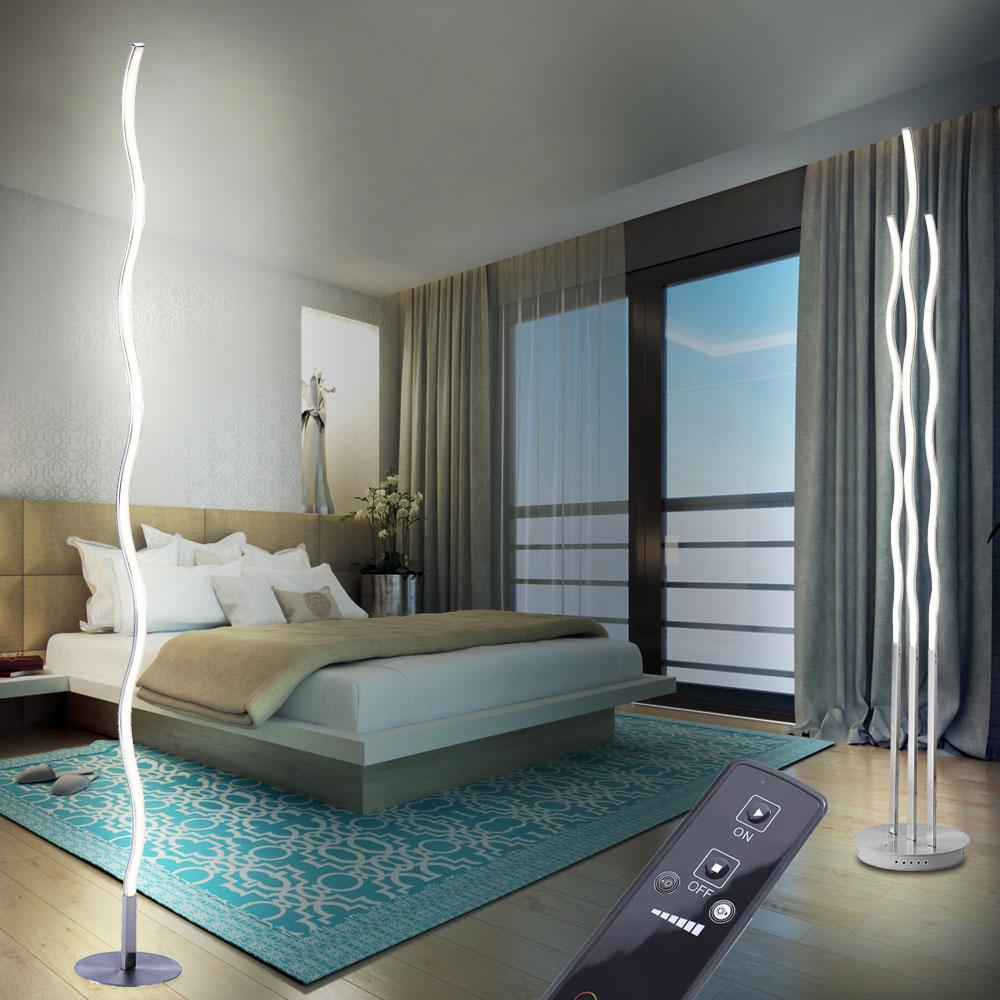 design led stehleuchten im wellen design f r den wohnraum unsichtbar lampen m bel. Black Bedroom Furniture Sets. Home Design Ideas