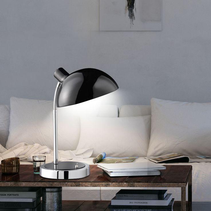Design Tisch Leuchte Schlafzimmer Lese Nacht Licht schwarz schaltbar Flexo ACTION 832201100000 – Bild 3