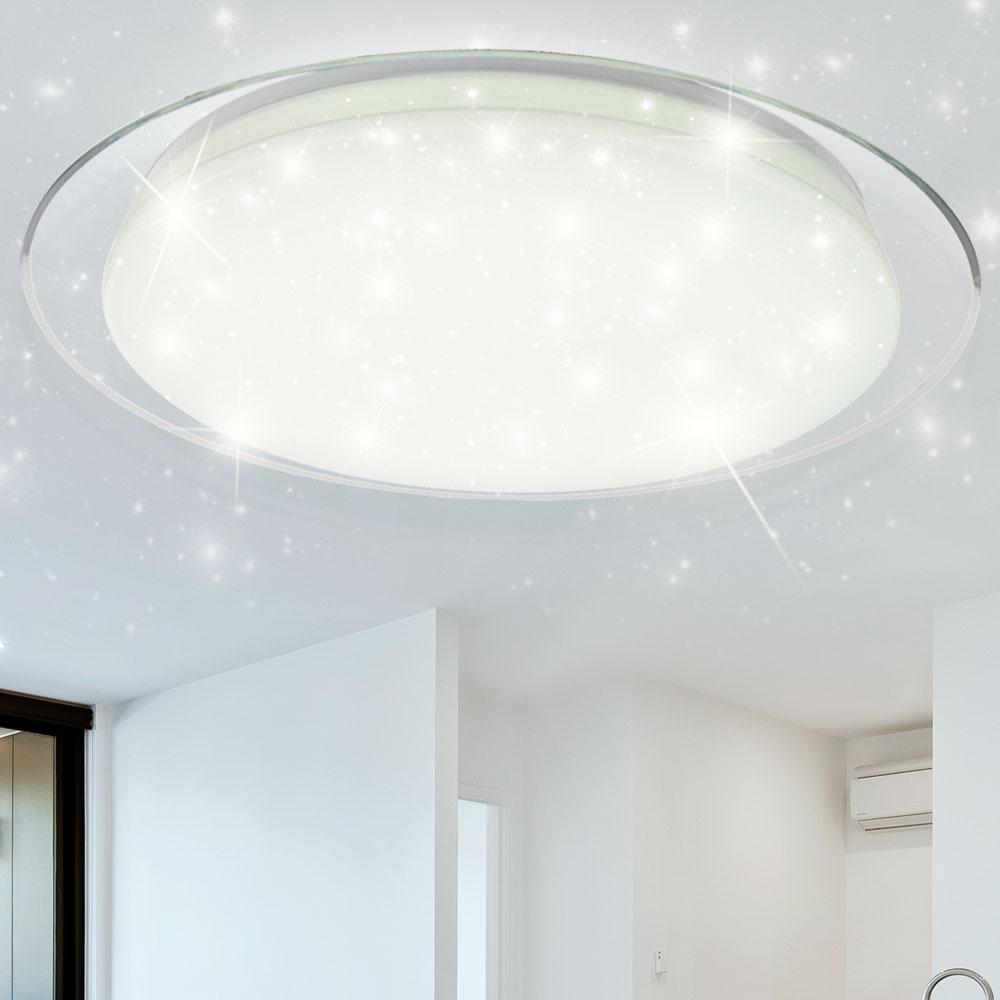 Design LED Decken Lampe Schlafzimmer Sternen Himmel Effekt