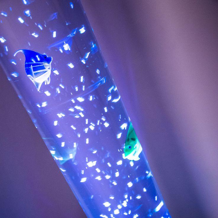 RGB LED lampadaire colonne d'eau lampe changeur de couleur câble poissons décoratifs Leuchten Direkt 85106-55 – Bild 4