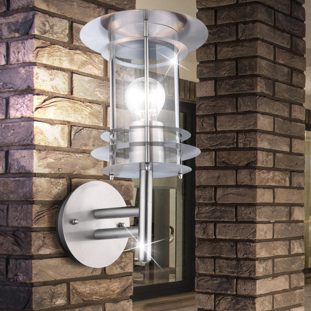 au en wand led sockel steh lampe beleuchtung bewegungsmelder garten terrasse weg ebay. Black Bedroom Furniture Sets. Home Design Ideas