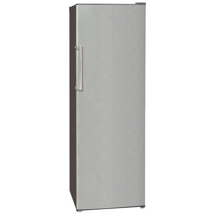 Exquisit Vollraum-Kühlschrank KS 350-4 A++ Inox look Standgerät Höhe 170 cm – Bild 1